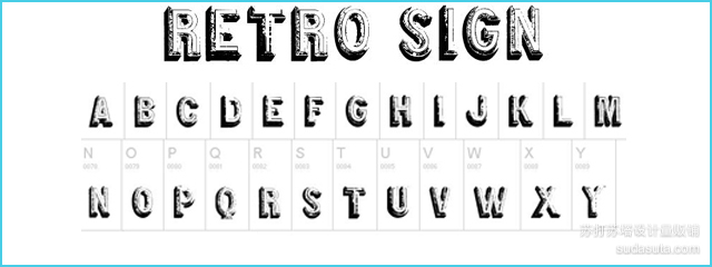 Retro Sign<br /><br /> http://www.dafont.com/retro-sign.font