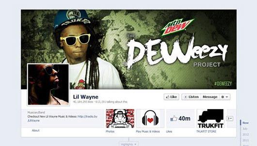 Lil Wayne<br /> http://www.facebook.com/LilWayne