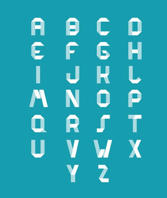 RIDGE Typeface<br /> http://www.behance.net/gallery/RIDGE-Typeface/6456873