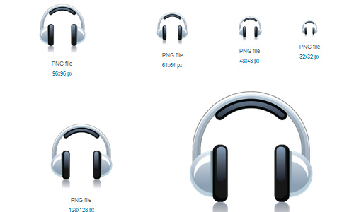 Headphone Icon<br /> http://www.softicons.com/free-icons/computer-icons/free-multimedia-icons-by-daily-overview/headphone-icon