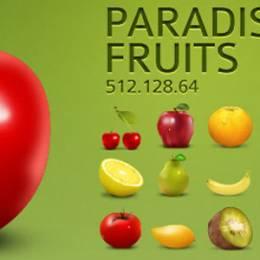 诱人的水果ICON图标免费下载