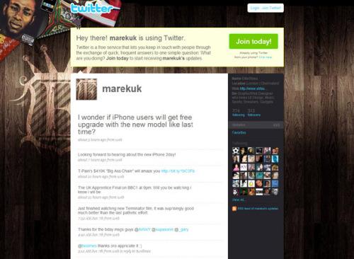 100个创意特色Twitter的页面背景 part1