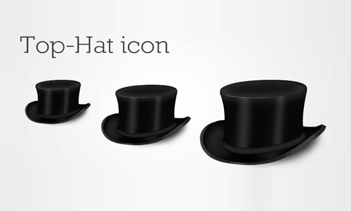 Top-Hat Icon<br /> http://psdhunter.com/psd/6763-top-hat-icon-psd-free-photoshop-download