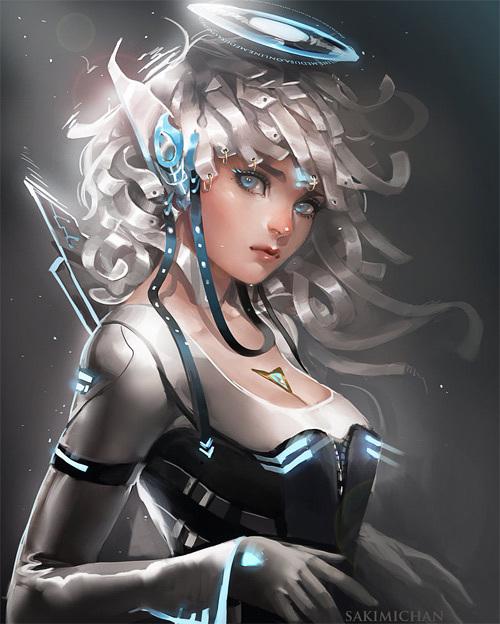 Si-Fi Elf<br /> http://sakimichan.deviantart.com/art/Si-Fi-Elf-288108592