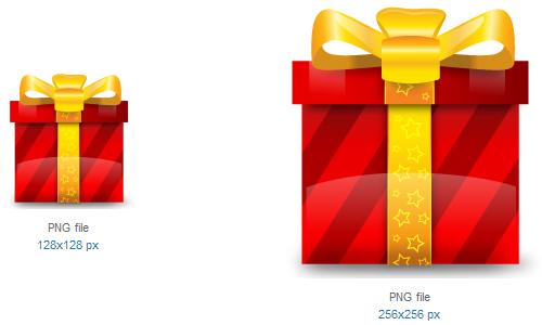 礼品图标<br /><br /> 24×24像素,32×32像素,48×48像素,128×128像素,256×256像素和512×512像素<br /><br /> http://www.softicons.com/free-icons/holidays-icons/christmas-icon-set-by-iconshock/gift-icon