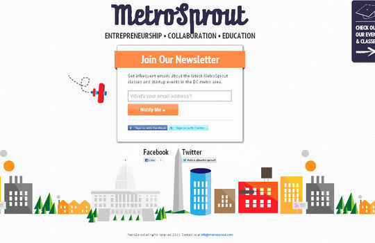 Metro Sprout<br /><br /> http://www.metrosprout.com/