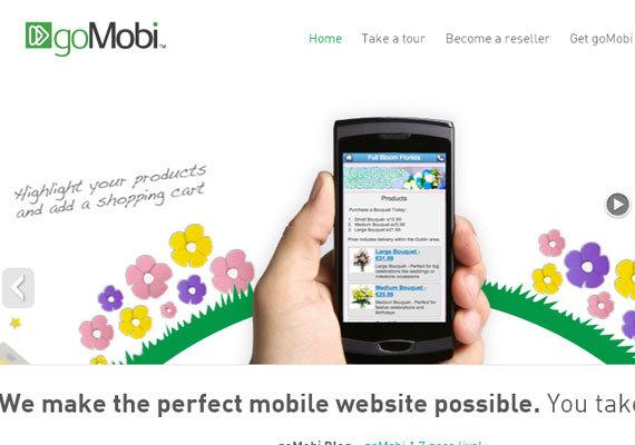 goMobi<br /> http://gomobi.info/<br /> 掌握goMobi意味着你可以更为简单的把你的业务转移到移动消费者的身上。