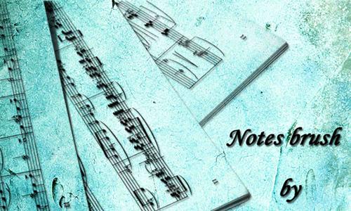 Note Brush<br /> http://annfrost-stock.deviantart.com/art/Note-brush-86270379