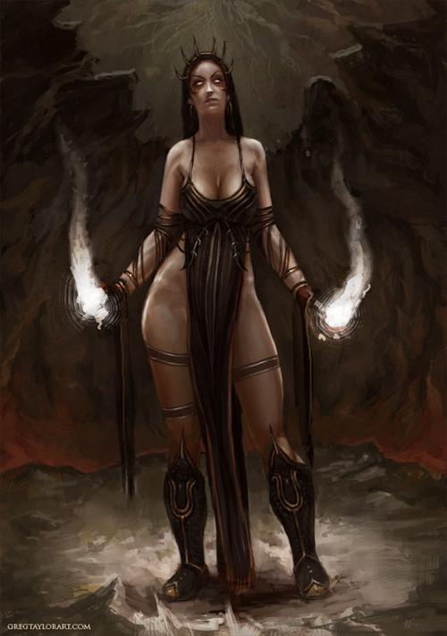 Witch<br /> http://shade-of-nekura.deviantart.com/art/witch-162539698