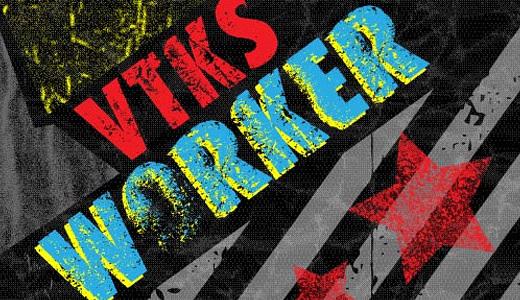 VTKS Worker<br /> http://www.dafont.com/vtks-worker.font