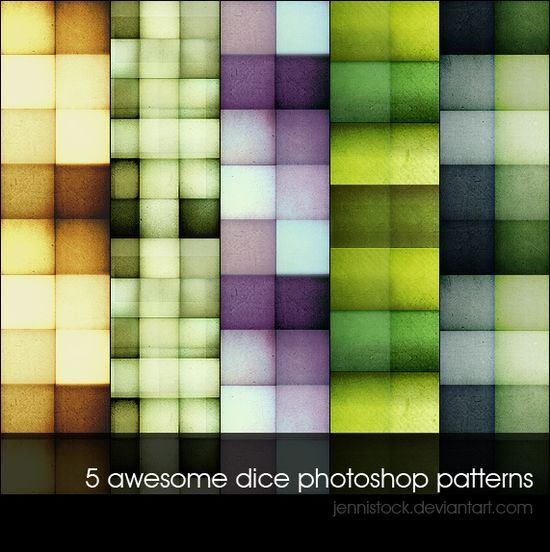 Dice patterns<br /> http://jennistock.deviantart.com/art/Dice-patterns-141832479