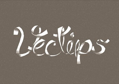 卷曲的绸缎效果文字绘制教程<br /> http://vectips.com/tutorials/custom-dusty-type-treatment/