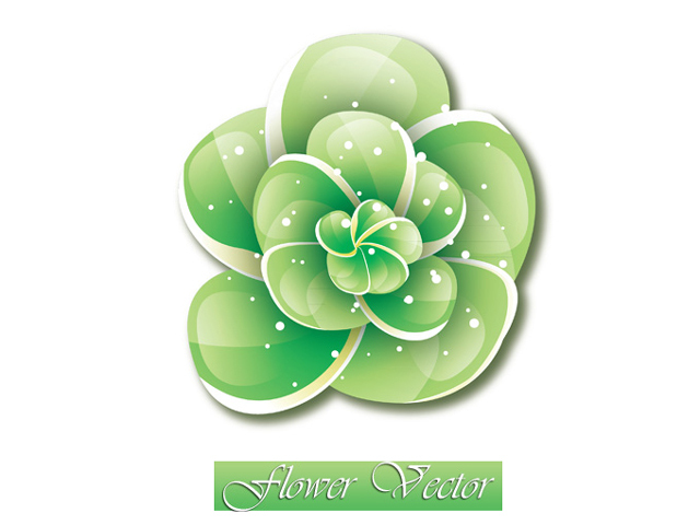 Sparkling Flower Vector<br /> http://www.vectorvaco.com/sparkling-flower-vector-12037/