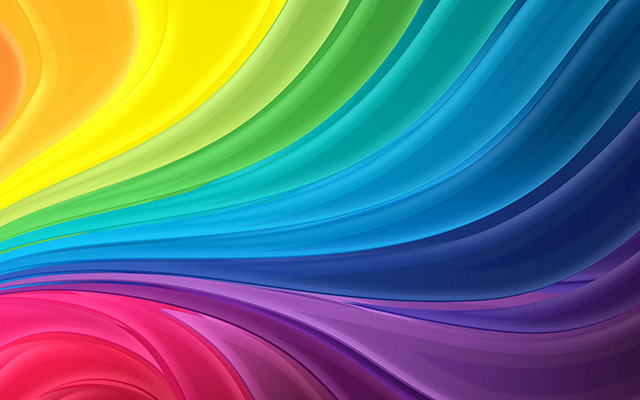 Curl Rainbow<br /> http://www.wallpaperfx.com/other/abstract/curl-rainbow-wallpaper-5451.htm
