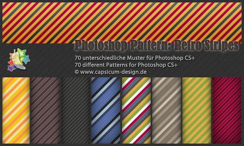 70复古条纹图案(70模式)<br /> http://hexe78.deviantart.com/art/70-Retro-Stripe-Pattern-201660503