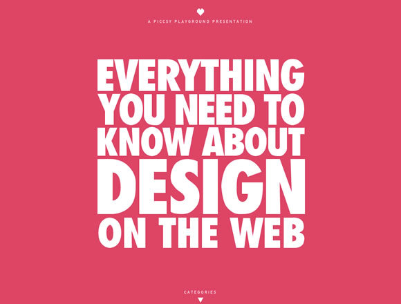 Everything you need to know about Design<br /> http://www.piccsy.com/everything-design/