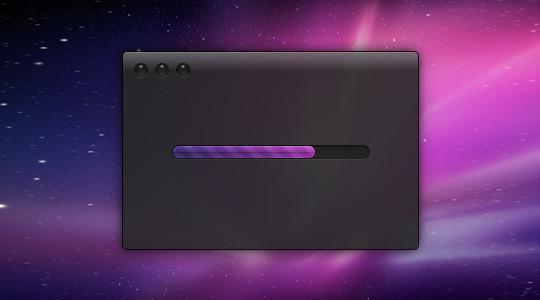 时间进度条PSD源文件<br /> http://designmoo.com/4448/sexy-time-progress-bar/