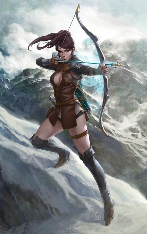 英国弓箭手<br /> http://artgerm.deviantart.com/art/English-Archer-279864666