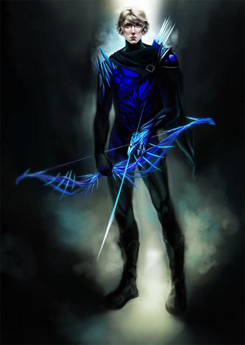 弓箭手<br /> http://purplelemon13.deviantart.com/art/Archer-282361287