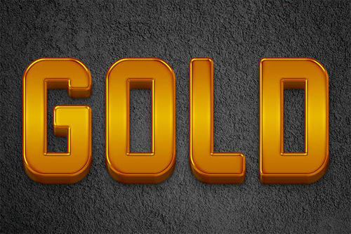 Create a Polished 3D Gold Bars Text Effect<br /> http://psd.fanextra.com/tutorials/text-effects/create-a-polished-3d-gold-bars-text-effect/