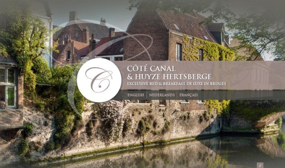 B&B Cote Canal Bruges<br /> http://www.bruges-bedandbreakfast.be/