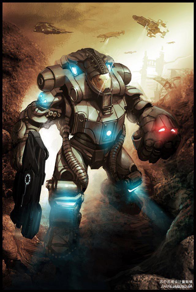 机器人Neisbeis<br /> http://neisbeis.deviantart.com/art/robot-72885044