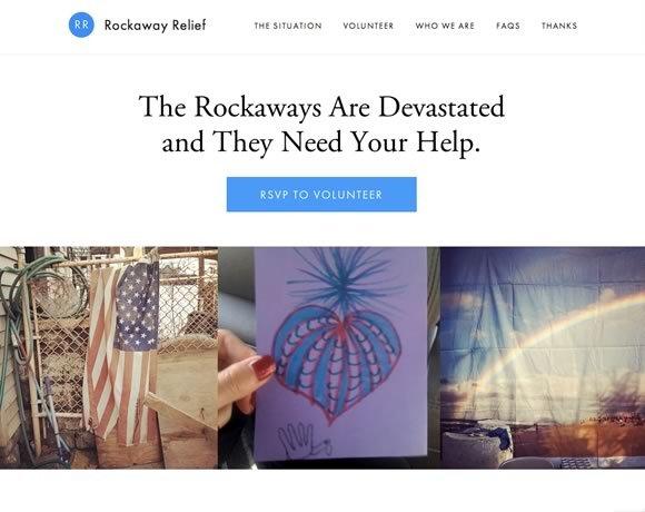 Rockaway Relief<br /> http://rockawayrelief.com/