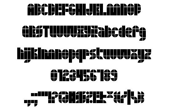 Quasoid font<br /> http://www.fontspace.com/xenophilius/quasoid