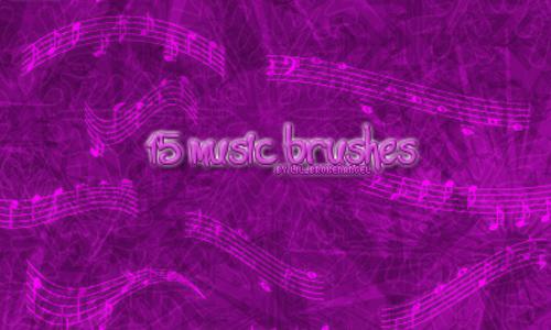 Brushes – Music<br /> http://lilbrokenangel.deviantart.com/art/Brushes-Music-44476276