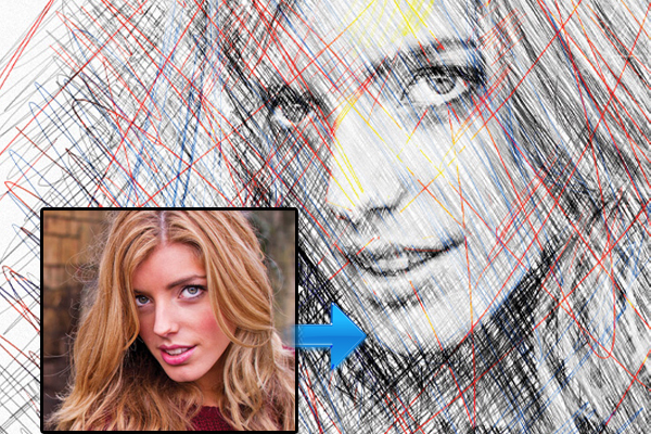 用Photoshop创建一个逼真的素描效果 http://www.creativebloq.com/photoshop/create-realistic-photoshop-sketch-effect-photos-812517