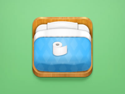 Blue Bed http://dribbble.com/shots/811248-Lonely-Otaku-Icon