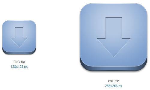 下载图标<br /> http://www.softicons.com/free-icons/application-icons/bloc-icons-by-lukeedee/downloads-icon