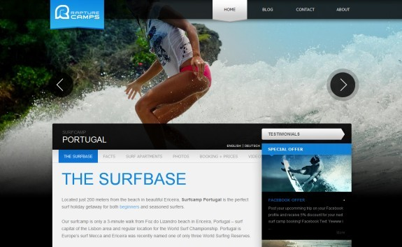 The Surfbase<br /> http://www.surfcampinportugal.com/