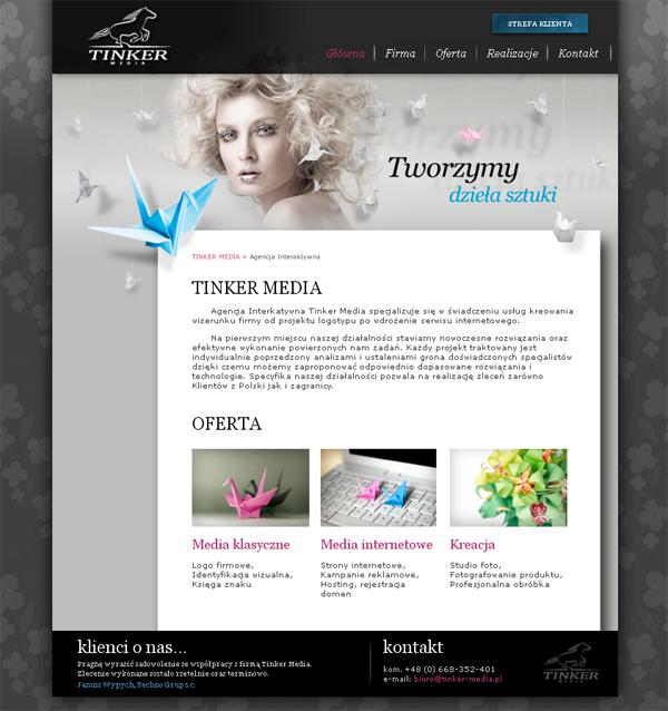 Tinker Media<br /> http://www.tinker-media.pl/index.html
