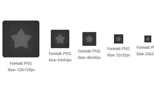 黑纺织星形图标<br /> 24x24px,32x32px,48x48px,64x64px和128x128px<br /> http://iconbug.com/detail/icon/5649/black-textile-star/