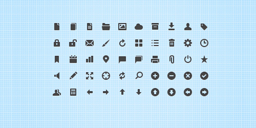 独家免费赠品:50脆的Web UI图标<br /> http://webdesign.tutsplus.com/freebies/icons-freebies/exclusive-freebie-50-crisp-web-app-icons/