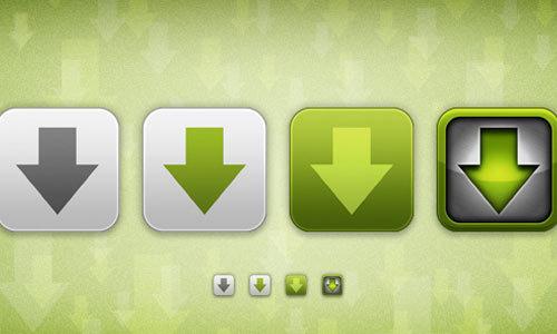 乱舞下载图标<br /> http://thommey.deviantart.com/art/Flurry-Download-Icons-193267872