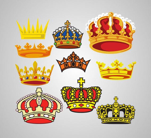 Free Vector Crowns<br /> http://www.vectorilla.com/2012/03/free-vector-crowns/