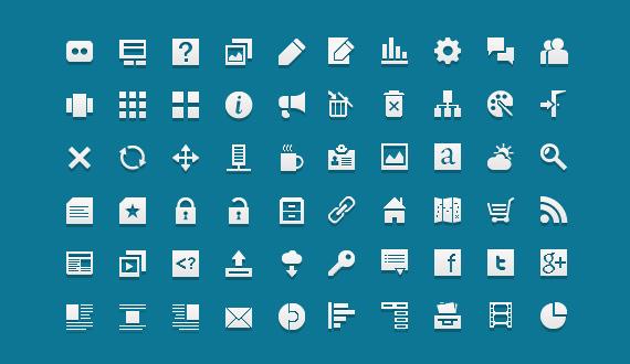Jigsoar icons<br /> http://dribbble.com/shots/487497-Jigsoar-icons-60-free-creative-commons-icons