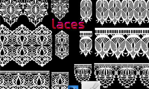 Lace Brushes<br /> http://roula33.deviantart.com/art/lace-brushes-304955372