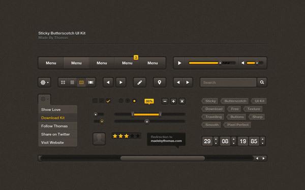 Sticky UI<br /> http://dribbble.com/shots/306239-Sticky-Butterscotch-UI-Kit-Free-PSD