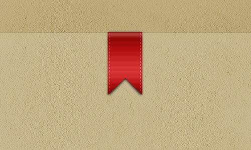 现实丝带PSD<br /><br /> http://designmoo.com/4225/realistic-ribbon-psd/