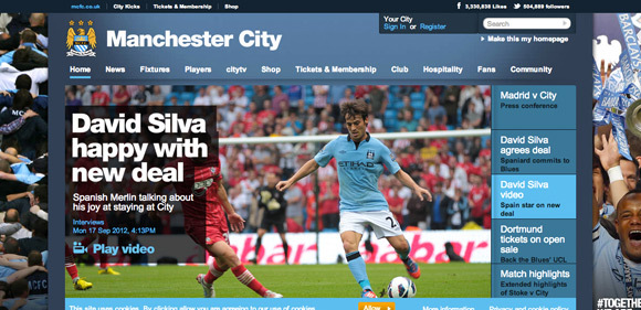 Manchester City<br /> http://mcfc.co.uk/
