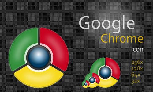 Google Chrome Icon<br /> http://dragonic2020.deviantart.com/art/Google-Chrome-Icon-115364191
