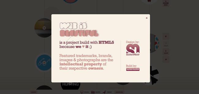 Web is beautiful<br /> http://www.beautifulexplorer.com/main.html?skip=1