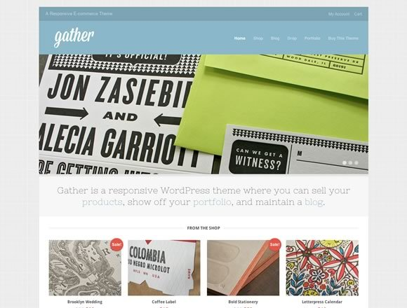 Gather<br /> http://themetrust.com/demos/gather/