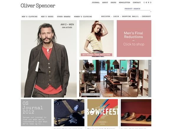 Oliver Spencer<br /> http://oliverspencer.co.uk/