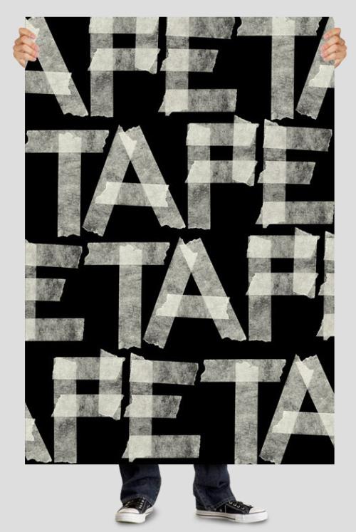 40个超级尺寸的手绘字体设计