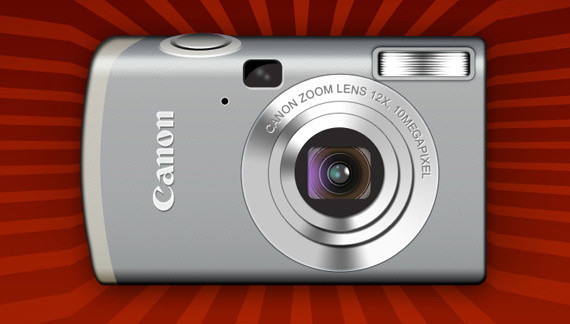 在photoshop中绘制一个佳能相机<br /> http://www.adobetutorialz.com/articles/2885/1/Designing-Canon-Digital-Camera