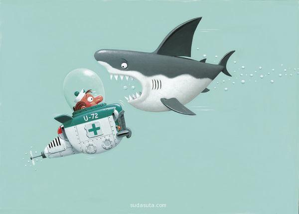funny illustration artworks all the time collection